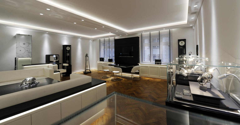Lounge im Juwelierhaus