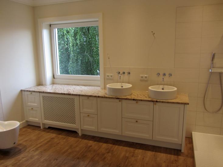 waschtisch mit granitplatte blascheck tischlerei. Black Bedroom Furniture Sets. Home Design Ideas